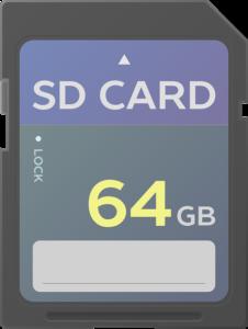 SD Karte für Mini Beamer